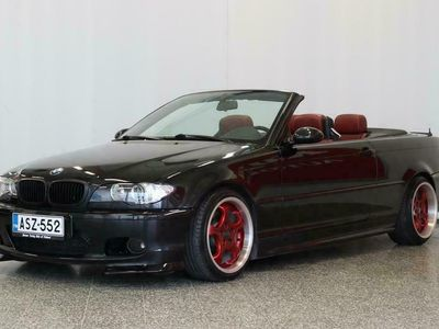 käytetty BMW 325 Cabriolet 325 * Suomi-Auto* M-Sport ratti* Ilmastointi* Cruise* Sähköpenkit* Nahat*