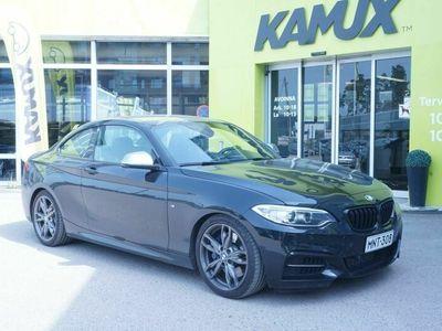 käytetty BMW M235 M235Coupé // 430hp / Proff.Navi / P.Kamera / HarmanKardon / Stage 2 / Downpipe / Vrsf-välijäähdytin //