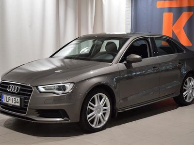 käytetty Audi A3 Sedan Business 1,6 TDI 77 S tronic - Sedan,tutkat, automaatti, Juuri tehty jakopää,