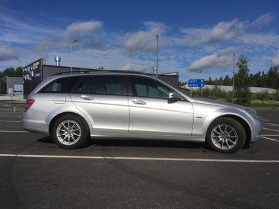 gebraucht Mercedes C220 BE, HUOLLETTU 24.04.18, WEBASTO