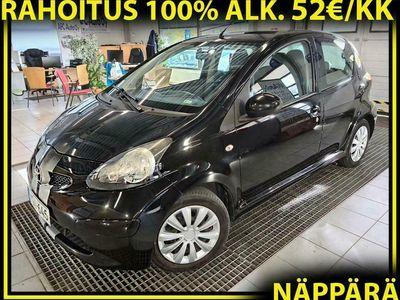 käytetty Toyota Aygo 1.0 VVT-i Plus 5ov #RAHOITUS 100% ALK. 52e/KK#