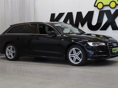 käytetty Audi A6 Avant S line Business Sport 2,0 TDI 140 kW quattro S tronic / Vetokoukku / Drive Select / Peruutustutka /