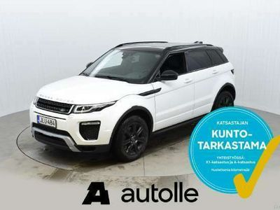 käytetty Land Rover Range Rover evoque *HARVINAINEN*2.0 Si4 SE Dynamic 177kW Aut. Tarkastettuna, Rahoituksella, Kotiin toimitettuna!