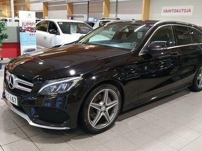 käytetty Mercedes C180 d T A AMG Premium Edition