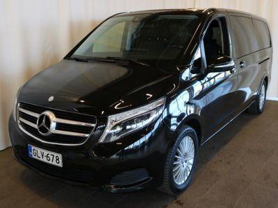 käytetty Mercedes V200 Aut BlueTEC pitkä 1+5h **Led-ajovalot, Navi, Nahat, Peruutuskamera, Suomi-auto** **** Korko 0,5%