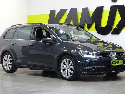 käytetty VW Golf Variant Highline 2,0 TDI 110 kW (150 hv) 4MOTION / Webasto / Adapt. Vakionopeudensäädin / Neliveto