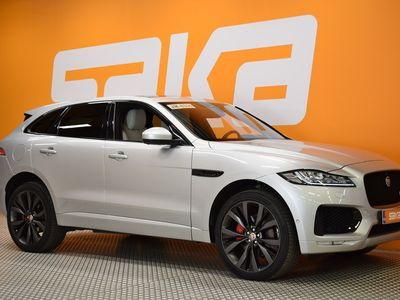 käytetty Jaguar F-Pace 30d AWD R-Sport Aut First Edition ** Huippuvarusteet / Navi / Led / BLIS / HUD / Meridian / **