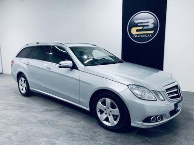 käytetty Mercedes E220 BE T A ELEGANCE **KORKOTARJOUS 0,89% + 3KK LYHENNYSVAPAA**