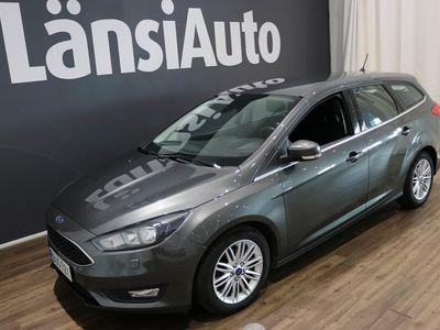 käytetty Ford Focus 1,5 TDCi 120 hv Start/stop Powershift Edition Wagon **** LänsiAuto Safe -sopimus hintaan 590€. ****