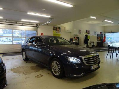 käytetty Mercedes E220 A Business ** Suomi-auto, LED-valot, Sport-istuimet, P-KAMERA **
