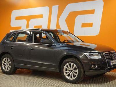käytetty Audi Q5 Business 2,0 TDI 130 kW quattro S tronic ** Sportti nahka-alcantarat / Tutkat / Jakopää (161tkm) / V