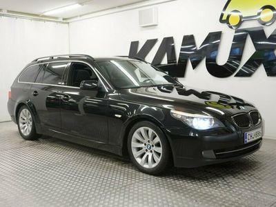käytetty BMW 535 dA E61 Touring / Suomi-auto / Huippuvarusteet!! / Webasto / Comfort / Pro Navi / Koukku