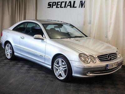 käytetty Mercedes CLK200 Kompressor Coupe (Uudet 18 pyörät)
