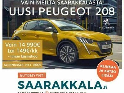 käytetty Peugeot 208 Active PureTech 75 *149€/kk ilman käsirahaa*