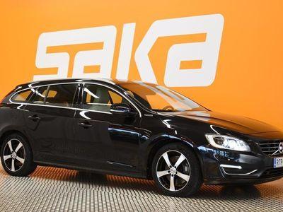 käytetty Volvo V60 D6 AWD Summum plug in hybrid aut ** Navi / Merkkihuollettu / Nahat / Sähköpenkit / P-Kamera / Jakopä