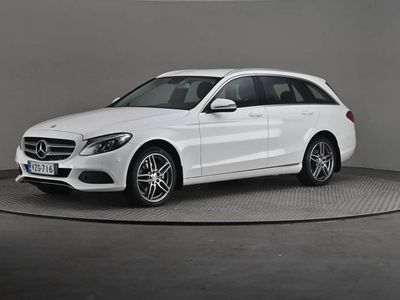 käytetty Mercedes C200 T Edition 4MATIC- Vetokoukku-
