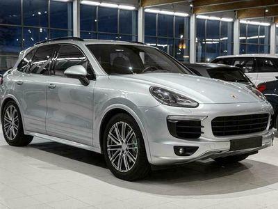 käytetty Porsche Cayenne S E-Hybrid E- Platinum Edition, Sport Design, Bose, Navi, PASM, PDLS+ *Korko 2,99*