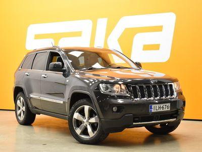 käytetty Jeep Grand Cherokee 3,0 CRD Overland ** Nahkasisusta / Lohkolämmitin + pistoke / Vetokoukku / Tulossa Ouluun! **