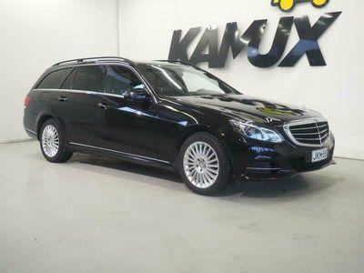 käytetty Mercedes E300 BlueTec Hybrid T A Premium Business / Nahat / Led-ils / Sähköluukku / Alvillinen