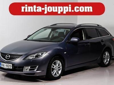 käytetty Mazda 6 2.0 TD Elegance Business SportWagon (WF1 - Taloudellisesti tilavalla farmarilla!