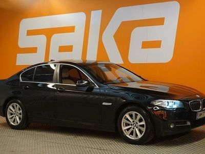 käytetty BMW 520 520 F10 Sedan d TwinPower Turbo A xDrive Business Exclusive Edition ** 1-om suomiauto / Sporttinahat