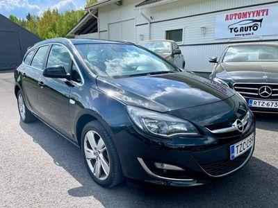 käytetty Opel Astra Sports Tourer Sport 1,4 Turbo S/S (MY13) Facelift / Suomi-Auto / Lohkolämmitys / PDC / Aut.ilmastointi