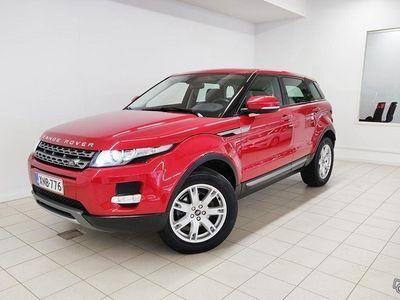 käytetty Land Rover Range Rover evoque 2,2 TD4 Pure Aut Webasto, Ratinlämmitys, Neliveto, Terrain response