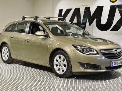 käytetty Opel Insignia Sports Tourer Edition 1,6 CDTI ecoFLEX Start/Stop 100kW MT6 / Eberi kaukosäädöllä / Nahkasisusta /