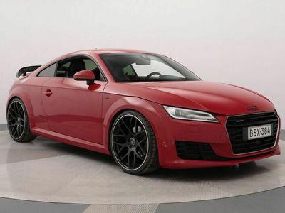 käytetty Audi TT Coupé 2,0 TFSI 169 kW quattro S tronic S-Line ** Virtuuaalimittaristo / NAVI / REMUS-Putkisto / APR