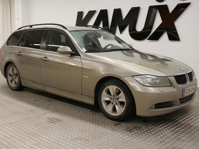 käytetty BMW 320 E91 Touring **SUOMI-AUTO / VAKKARI / VETOKOUKKU**