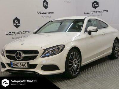 käytetty Mercedes C250 d Coupé A / Loistokuntoinen / Navi / Vakionopeudensäädin / Vaihto / Rahoitus
