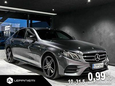 käytetty Mercedes E350 EA Premium Business AMG / Burmester / Kamera / Wide Screen / Night-paketti / Rahoitus / Vaihto
