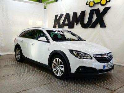 käytetty Opel Insignia Country Tourer 2,0 CDTI 4x4 125kW AT6 **KOTIINTOIMITUS**1-OMISTEINEN SUOMIAUTO**EBER**MERKKIHUOLLETT
