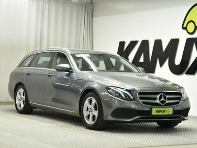 käytetty Mercedes E200 T A Avantgarde // Navigointi / Peruutuskamera / Android Auto & Apple CarPlay / Nahkaverhoilu /