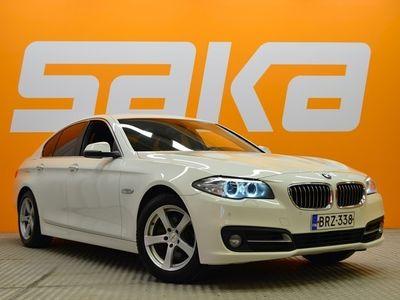 käytetty BMW 518 518 F10 Sedan d TwinPower Turbo A Business ** Suomi-auto / Webasto / Bi-xenon / P-tutkat / Ratinlämmitin **