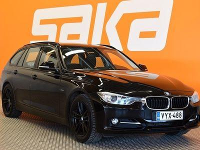 käytetty BMW 318 F31 Touring TwinPower Turbo A Sport Line ** Vetokoukku / Sähkökontti / Sporttipenkit / Tutka taakse / Xenon **