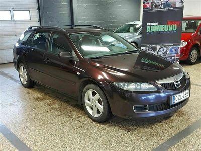 käytetty Mazda 6 Sport Wagon 2,0 Elegance Plus 6MT 5d W18 *KATSASTETTU / AUT.ILMASTOINTI / KOUKKU*