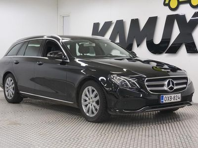 käytetty Mercedes E220 T A Premium Business /NAVI/ /KOKONAHAT/ /PERUUTUSKAMERA/