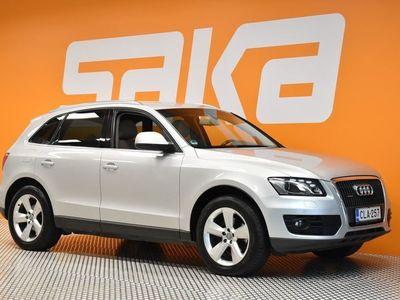 käytetty Audi Q5 2,0 TFSI quattro S tronic ** Webasto / S-line alusta / Nahkasisusta / Sporttipenkit **