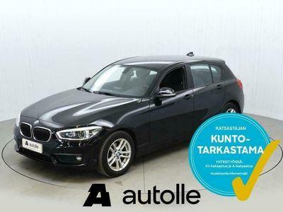 käytetty BMW 118 *NÄYTTÄVÄ*F20 i Business Edition 100kW Aut. Tarkastettuna, Rahoituksella, Kotiin toimitettuna!