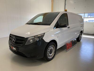 käytetty Mercedes Vito 116CDI 7G-TRONIC 4X4 SIS ALV 24% *BOTT HYLLYT, KAUKO WEBASTO, VETOKOUKKU*