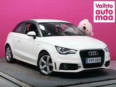 käytetty Audi A1 Compact Coupé Ambition 1,4 TFSI S tronic S-LINE # Navi # Xenon # Bluetootho # Todella hieno yksilö!