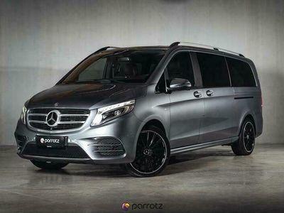 käytetty Mercedes V250 4Matic AMG Line Avantgarde * Alvillinen / Burmester / 360-kamera / Kaistavahti / Ilmastoidut penkit / Comand *