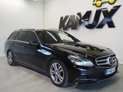 käytetty Mercedes E300 BlueTec Hybrid T A Premium Business **HUIPPUVARUSTEET**