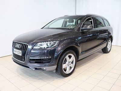 käytetty Audi Q7 *TYYLIKÄS* 3,0 V6 TDI 180 Q A Start-S 5p Tarkastettuna, Rahoituksella, Kotiin toimitettuna!