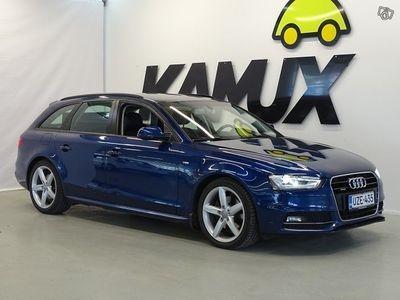 käytetty Audi A4 Avant Land of quattro S-Line Edition 2,0 TDI clean diesel 140 kW quattro / Juuri tullut / Nahka-Alca