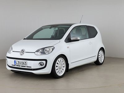 käytetty VW up! up! White1.0 55kw BlueMotion Tech 3ov #1,99%+kulut