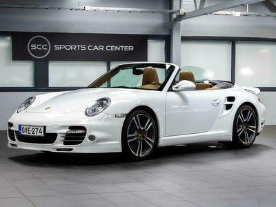 käytetty Porsche 911 997.2 Turbo Cabriolet PDK, Sport Chrono Package, PASM, Navigointijärjestelmä, Bose, Istuinlämmitys