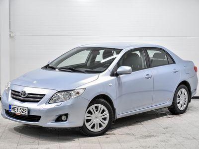 käytetty Toyota Corolla 1,6 Dual VVT-i Linea Sol 4ov - Esimerkillisesti pidetty helmi 1-omistajalta merkkiliikkeen huoltokir
