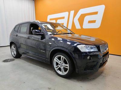 käytetty BMW X3 xDrive30d TwinPower Turbo A F25 M-SPORT ** Merkkihuollettu / Prof. Navi / HiFi / Sähkökoukku / Peruutuskamera **